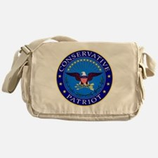 Conservative Patriot Messenger Bag