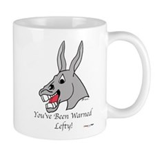 R.A.S. You've Been Warned Small Mug