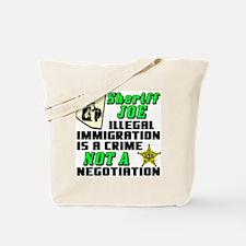 SHERIFF JOE Tote Bag