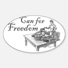 can for freedom Decal