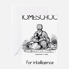 HOMESCHOOLforintelligence Greeting Card