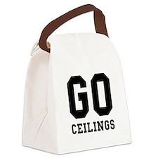 Go Ceilings Fan Joke Canvas Lunch Bag