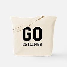 Go Ceilings Fan Joke Tote Bag