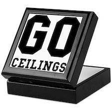 Go Ceilings Fan Joke Keepsake Box