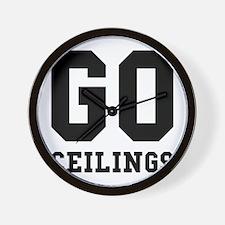 Go Ceilings Fan Joke Wall Clock