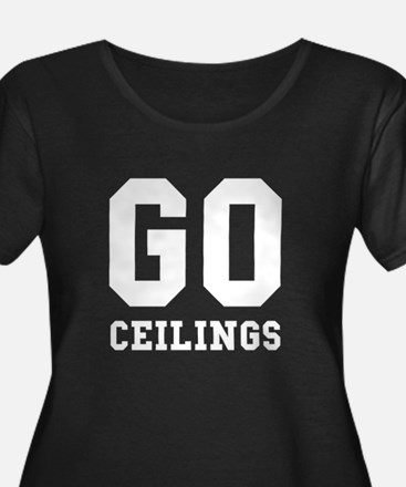 Go Ceilings Fan Joke Plus Size T-Shirt