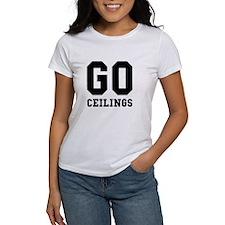 Go Ceilings Fan Joke T-Shirt