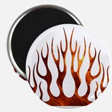 Tribal Flames Fire Magnet