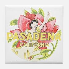 Vintage Pasadena Tile Coaster
