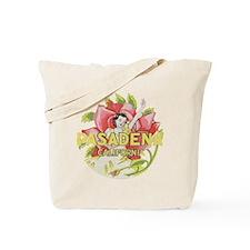 Vintage Pasadena Tote Bag