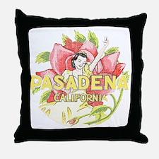 Vintage Pasadena Throw Pillow