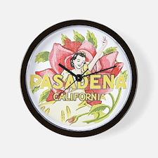 Vintage Pasadena Wall Clock