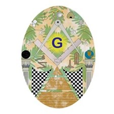 draft_poster16x20 Oval Ornament