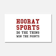 Hooray Sports Car Magnet 20 x 12