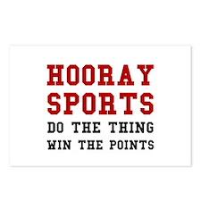 Hooray Sports Postcards (Package of 8)