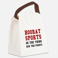 Hooray Sports Canvas Lunch Bag