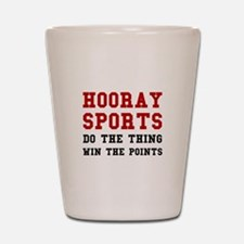 Hooray Sports Shot Glass