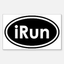 irun Sticker (Rectangle)