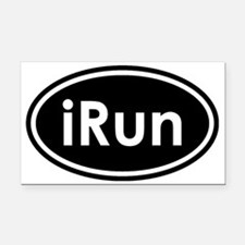 irun Rectangle Car Magnet