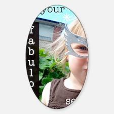 beyourself Sticker (Oval)