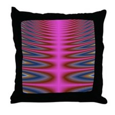 Pink Tie Dye Throw Pillow