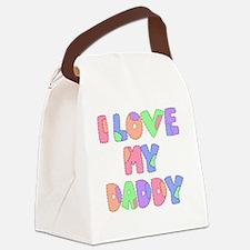 lovemydaddy1 Canvas Lunch Bag