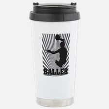 Baller Stainless Steel Travel Mug