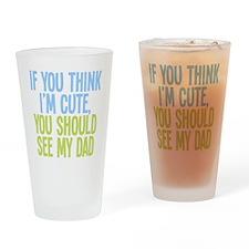 seemydad2 Drinking Glass