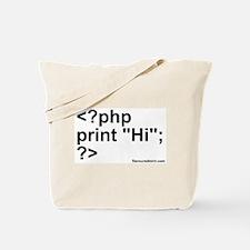 php Tote Bag