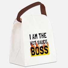 Hot Sauce Boss Canvas Lunch Bag