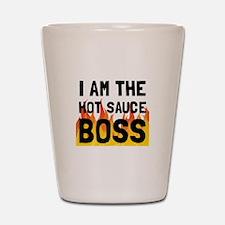 Hot Sauce Boss Shot Glass