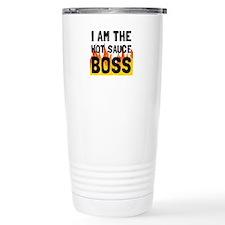 Hot Sauce Boss Travel Mug
