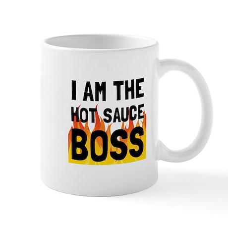 Hot Sauce Boss Mugs