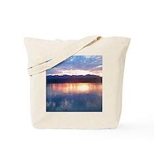 peaklightsunset Tote Bag