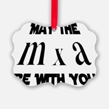may the force be with you cropped Ornament