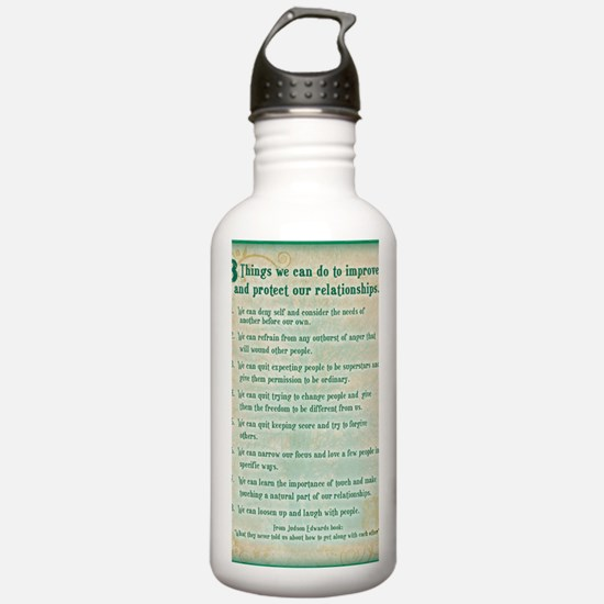8 things to protect re Water Bottle