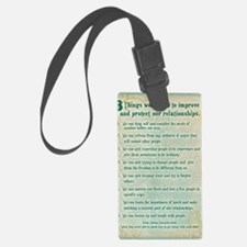 8 things to protect relationship Luggage Tag