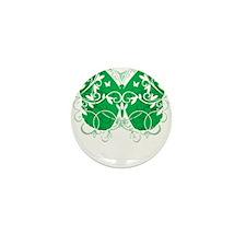 Cerebral-Palsy-Butterfly-blk Mini Button