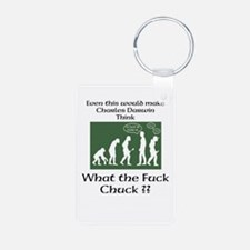 Evolution seen clearly Keychains