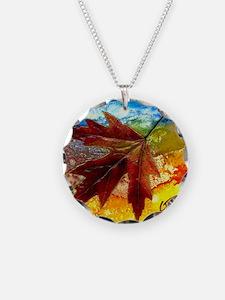 leaf design by gg Necklace
