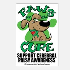 Paws-for-the-Cure-Cerebra Postcards (Package of 8)