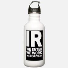 IR we enter we work we Water Bottle