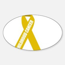 Childhood-Cancer-Hope-blk Decal