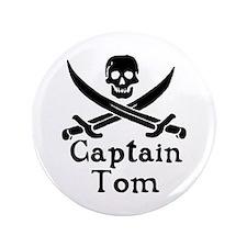 "Captain Tom 3.5"" Button"