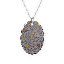 Morris Fruit Design Necklace Oval Charm