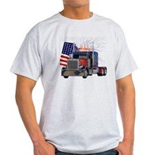 2-Am_Dark_Peterbilt_CP T-Shirt