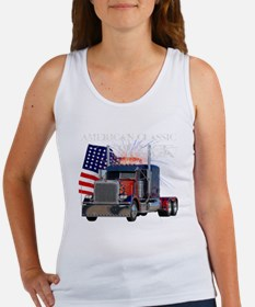 2-Am_Dark_Peterbilt_CP Women's Tank Top
