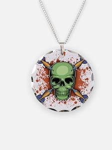 dart-skull-T Necklace