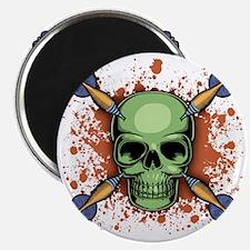 dart-skull-T Magnet
