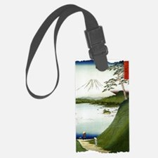 Mt. Fuji Seen From a Lake 1858 H Luggage Tag